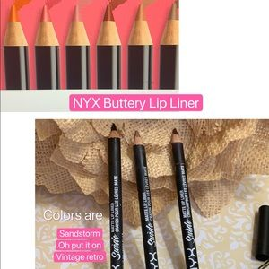 NYX Lip Liner Prof Makeup Artist used only 💄